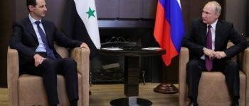 اسد با پوتین دیدار کرد