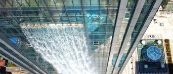 تصاویر) + آبشار مصنوعی 108 متری در چین (